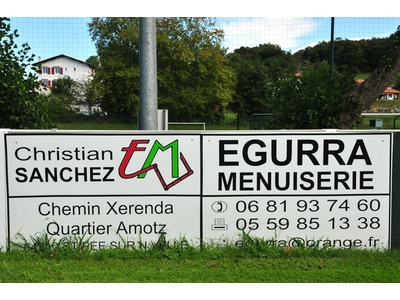 EGURRA menuiserie, Christain SANCHEZ